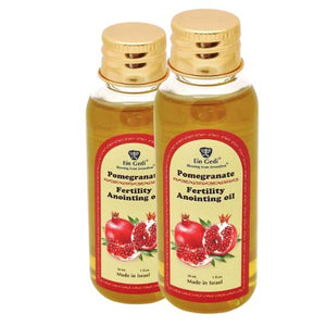 Two bottles of Fertility Anointing oil - Pomegranate - 30 ml. -  SEA OF GALILEE CHRISTIAN SHOP