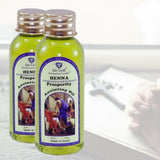 Two bottles of Prosperity Anointing oil – Henna 30 ml -  SEA OF GALILEE CHRISTIAN SHOP
