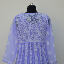 Load image into Gallery viewer, Lilac Georgette Anarkali with Inner
