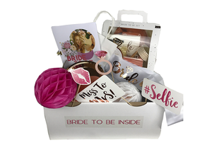 Bride to Be Deko Partybox