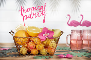Flamingo Deko Caketopper Tropical Party