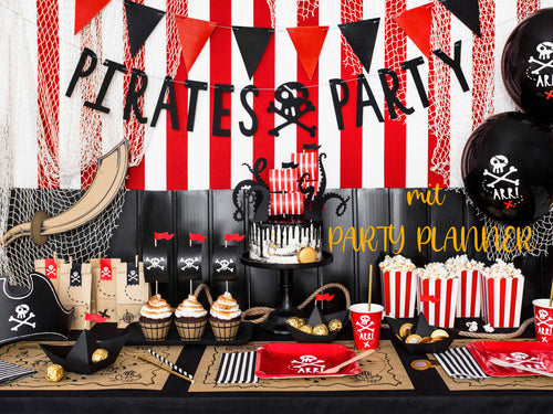 Piratenparty-Deko-Set