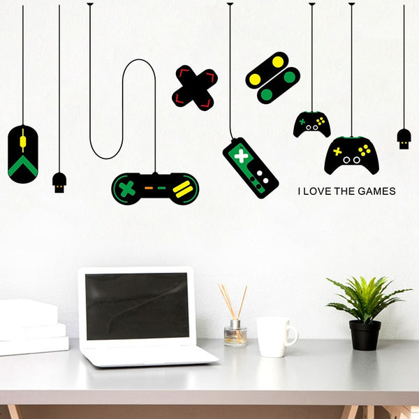 I Love The Games Wall Art