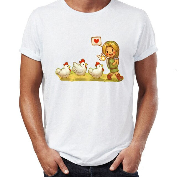 Lovely Link Heart Tee