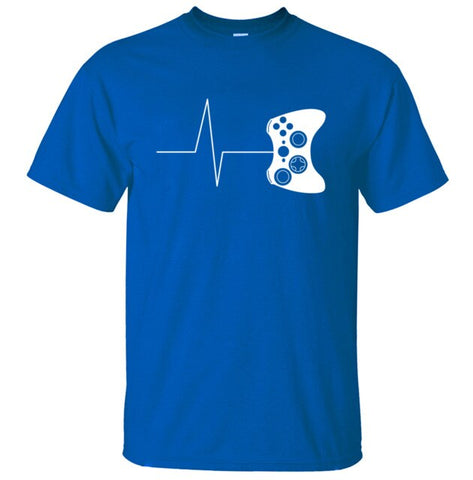 Gaming Is My Heartbeat Tee