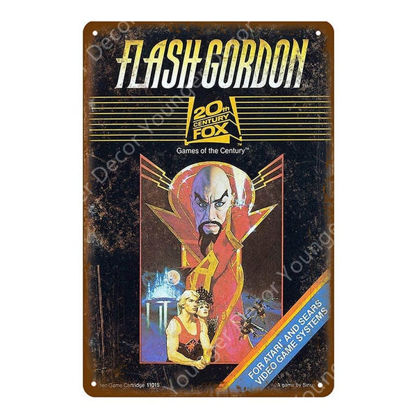 Retro Flash Gordon Poster