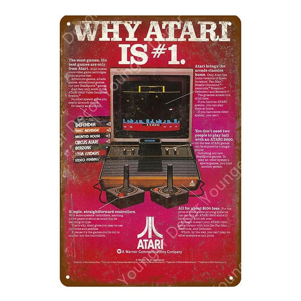 ATARI Is Number One Poster
