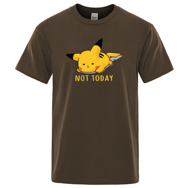 NOT TODAY Pikachu Tee