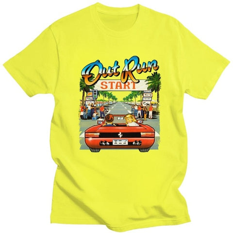 Out Run Retro Gaming Tee