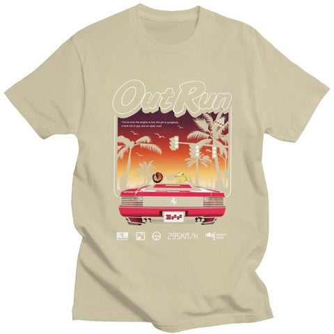 Retro Out Run Arcade Tee