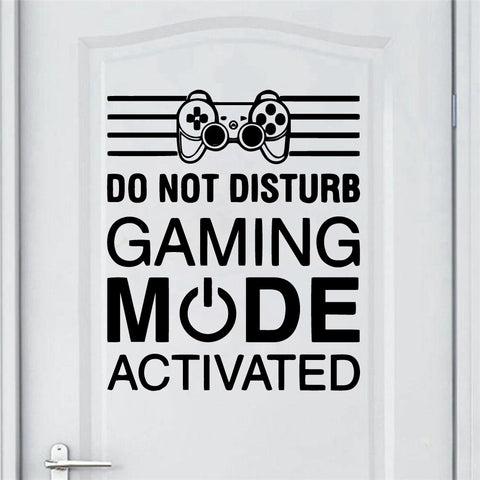 DO NOT DISTURB Gaming Wall Art