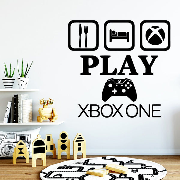 Play Xbox One Wall Art