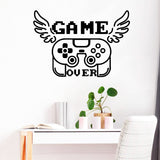 GAME OVER Wall Art