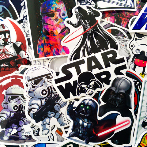 Star Wars Laptop Stickers