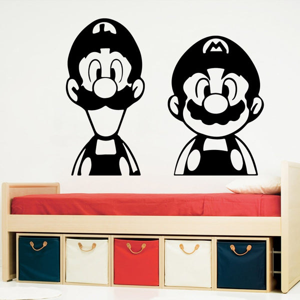 Super Mario & Luigi Wall Art