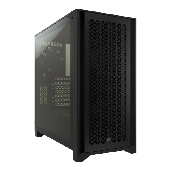 Corsair 4000D Airflow Tempered Glass Mid-Tower Case - Black