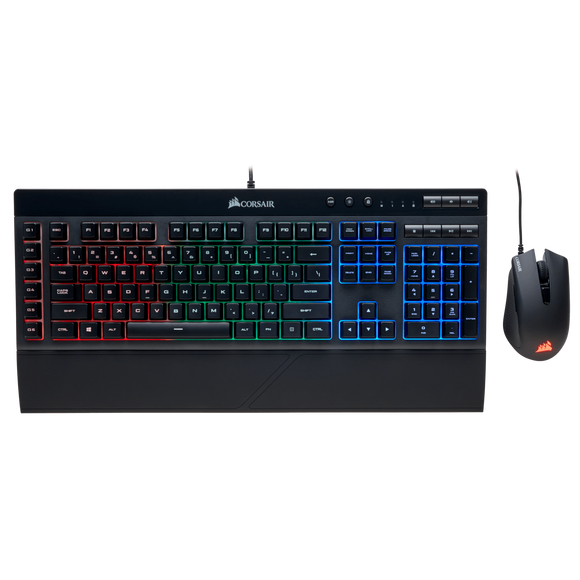 CORSAIR K55 and Harpoon RGB Keyboard and Mouse Combo