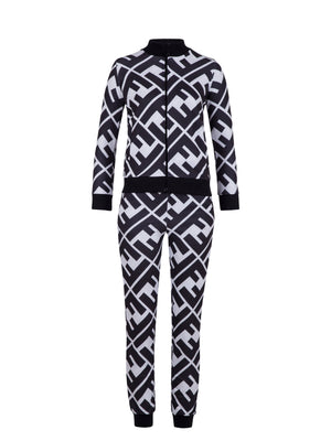 Fendi Tracksuit Tracksuits & Sets Color Black & White Logo