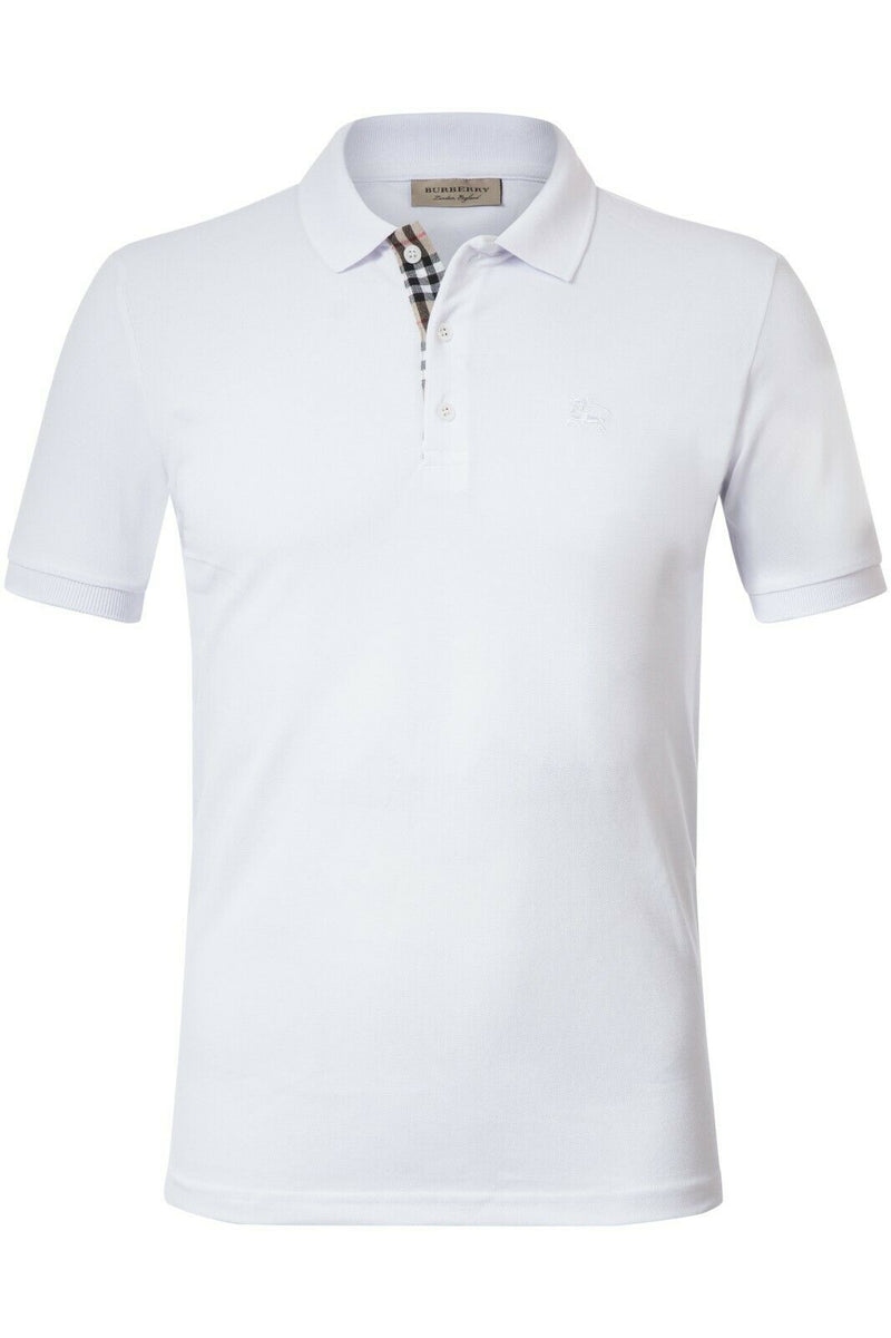Burberry Men Polo Shirt Material Cotton