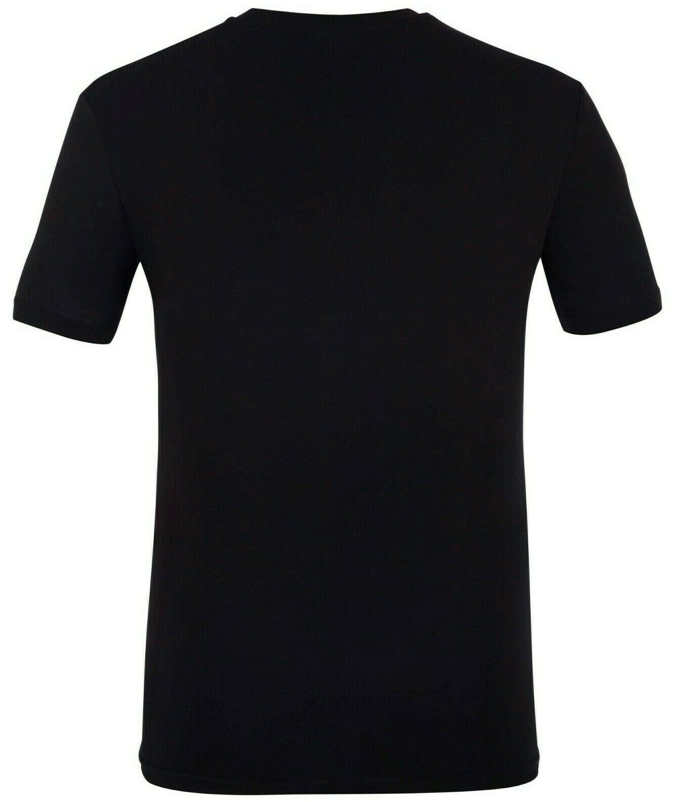 Calvin Klein Black Men's T-Shirt 100% Cotton