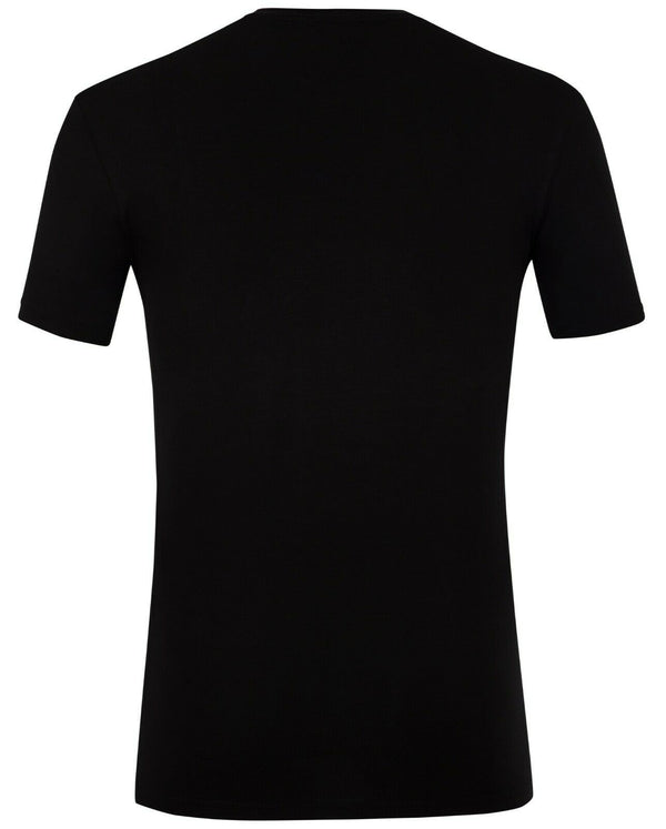 Diesel Men's T-Shirt Color Black Material Cotton
