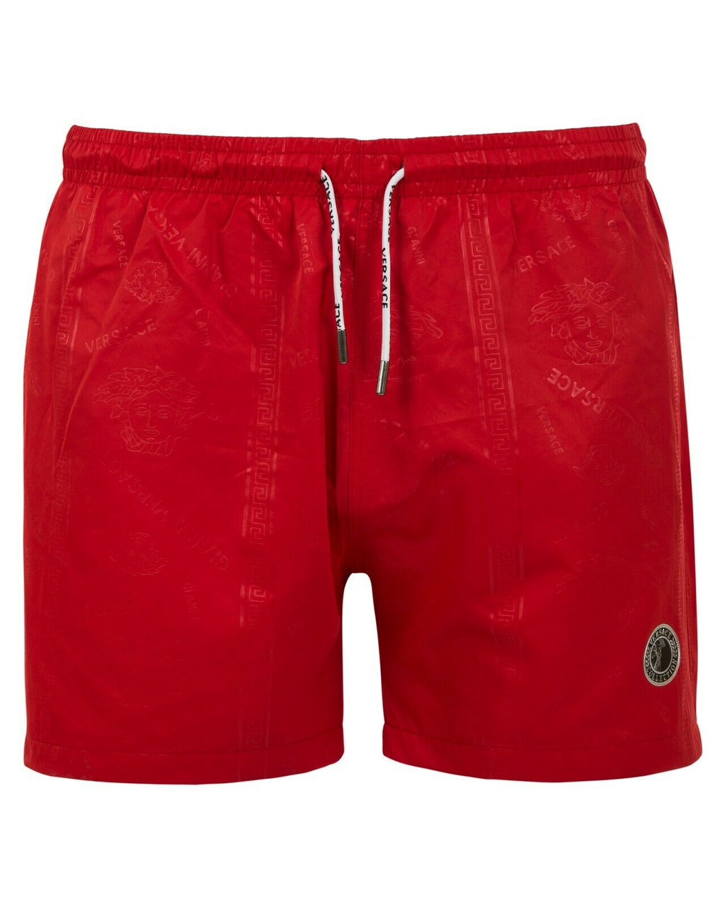 Versace  Red Swim Shorts Season Summer