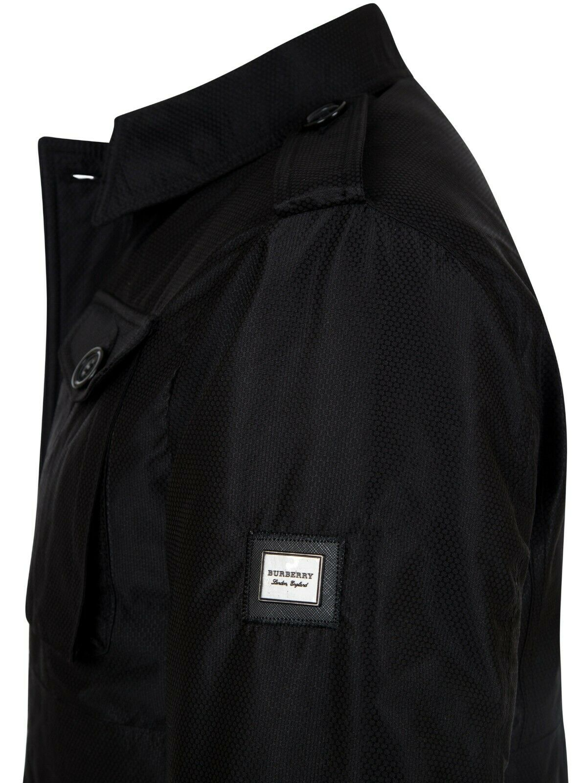 Burberry Black Winter Jacket Slim Fit Size !