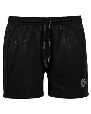 Versace  Black Swim Shorts Season Summer