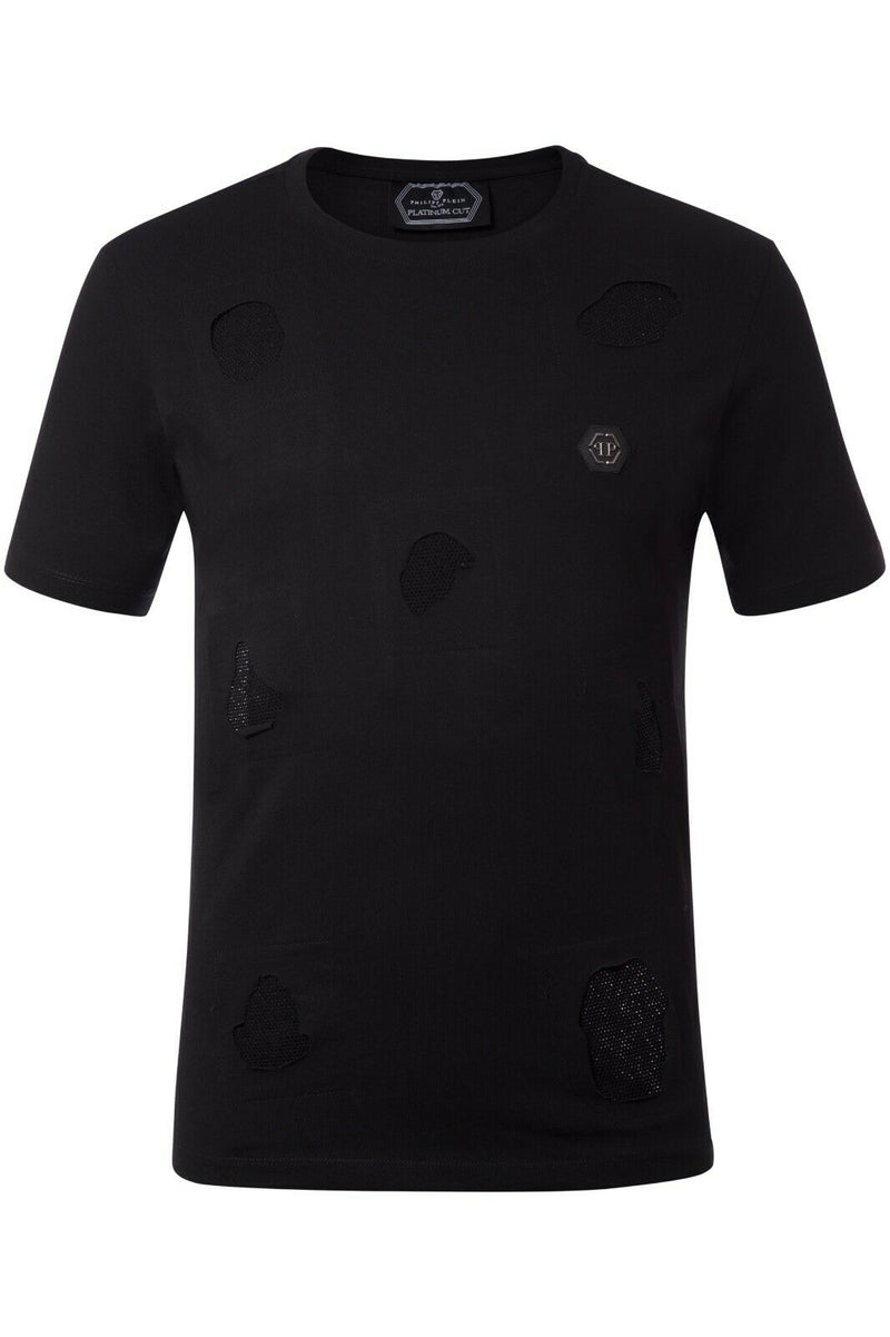 Philipp Plein  Men T-Shirt Color Black Material Cotton