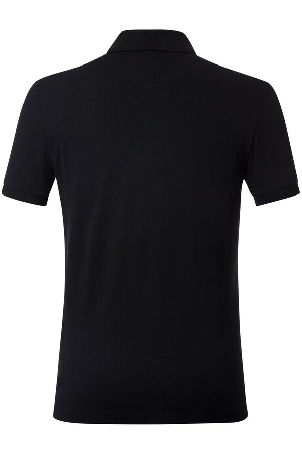 Prada Black Men Polo Shirt  Material Cotton