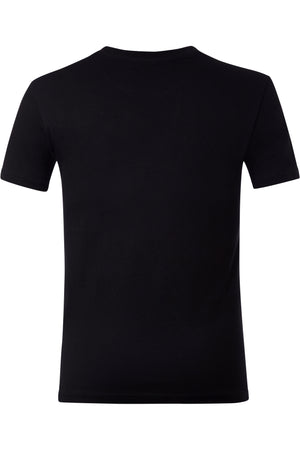 Moncler Men T-Shirt Color Black Material Cotton