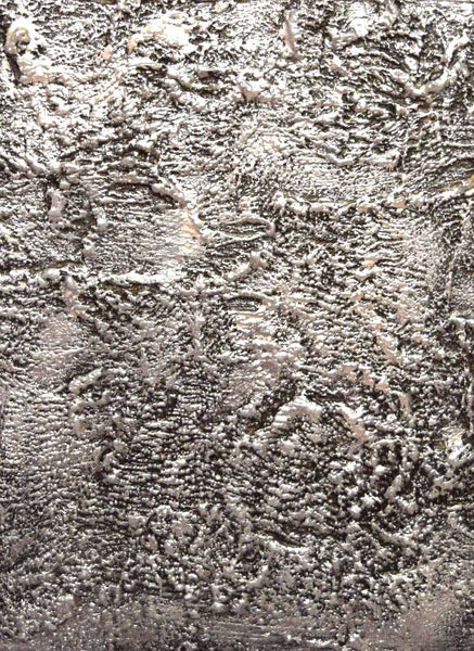 silver painting abstract