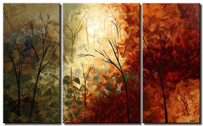 tree osnat painting triptych