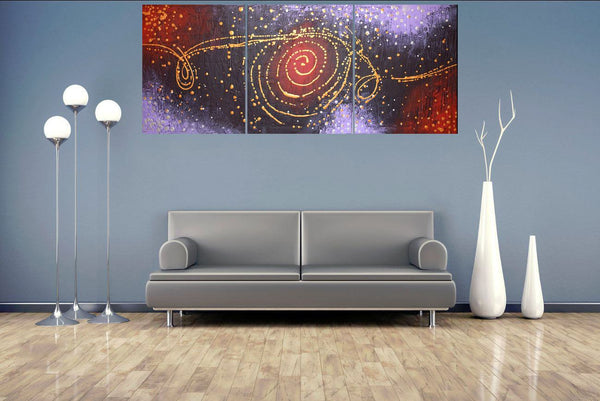 abstract painting Cosmic Symphony