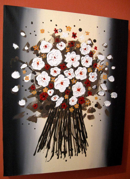Bouquet real flower art
