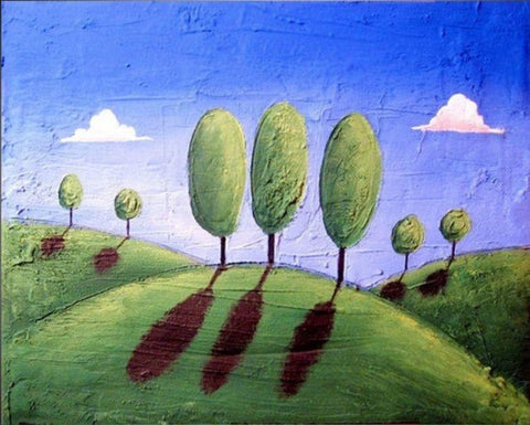 Eden artwork landscape countryside paintings