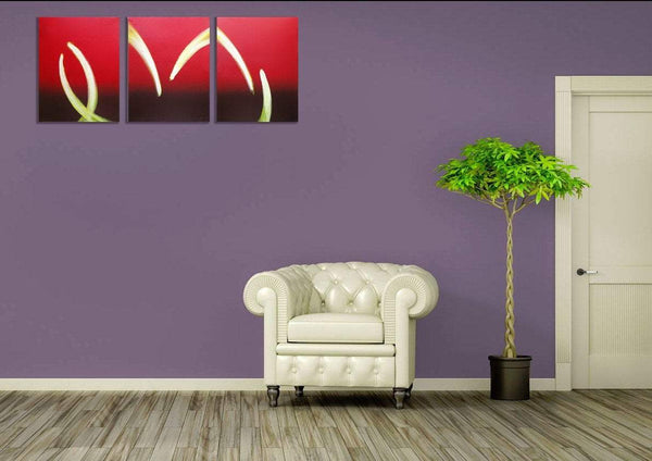 Flame On large wall art uk