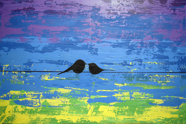love birds bird art pictures