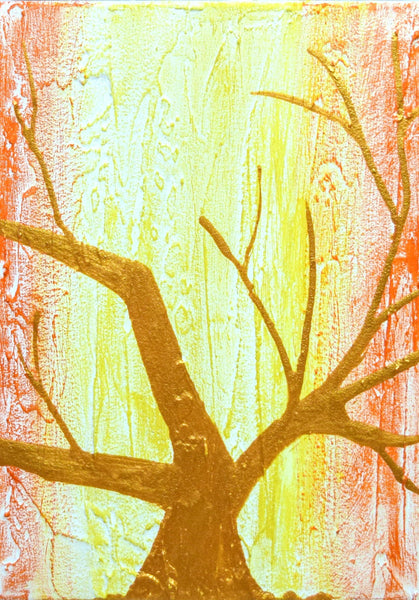 Rainbow Tree painting images