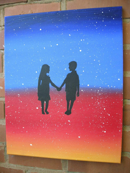 Star Struck valentines paintings