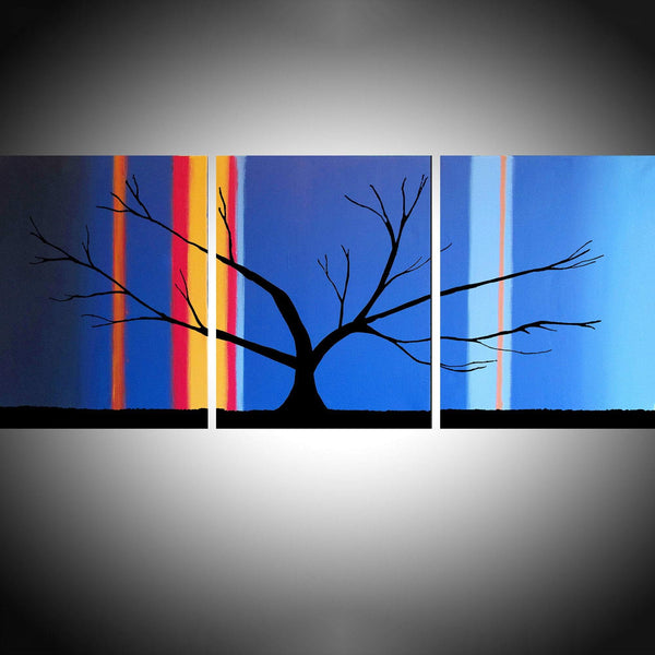 The Abstract Forest tree painting images
