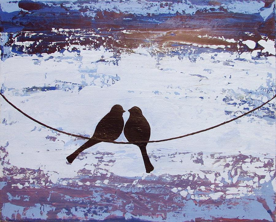 Together Forever bird art pictures
