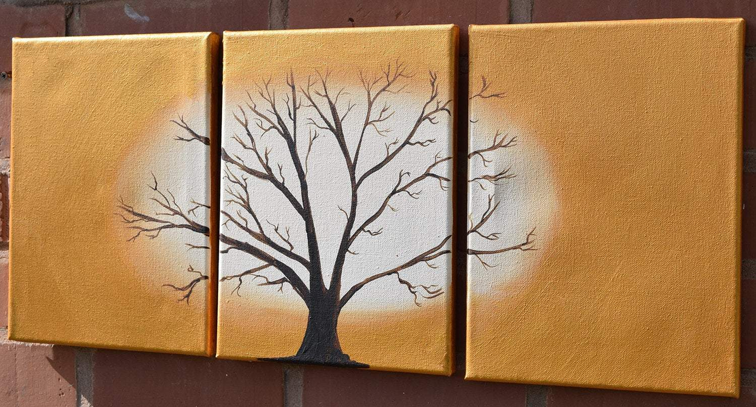 Tree of gold painting