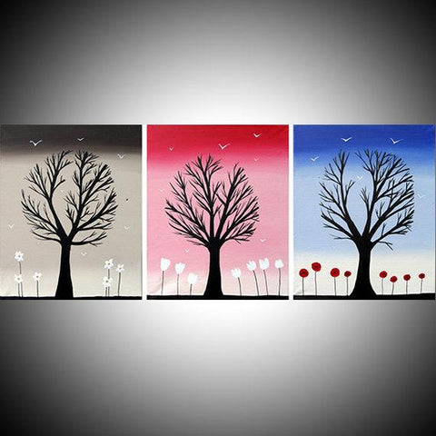 Trees of Colour countryside paintings