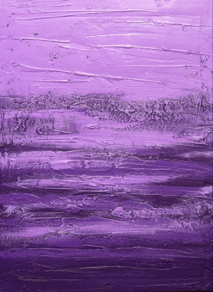 triptych canvas Purple Triptych 2 wide canvas