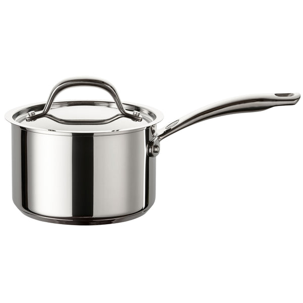 Ultimum stainless steel saucepan comes with a lifetime guarantee