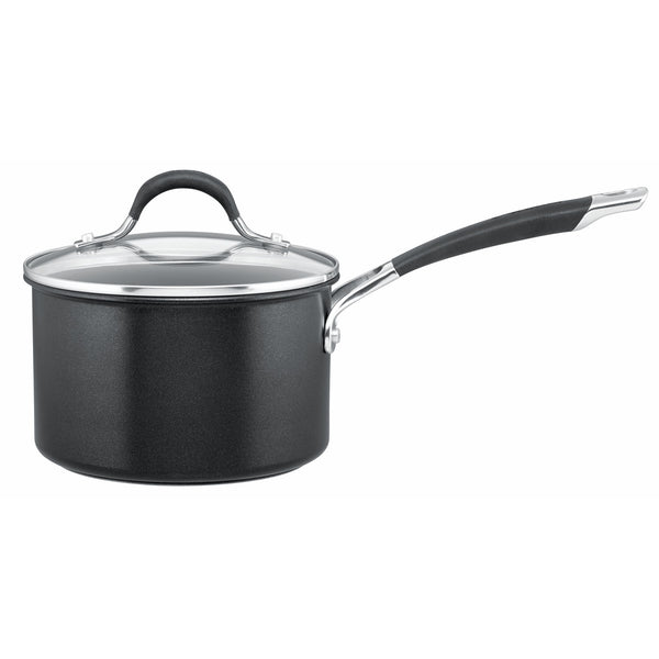18cm anodized saucepan from Circulon's Momentum range is twice as hard as stainless steel