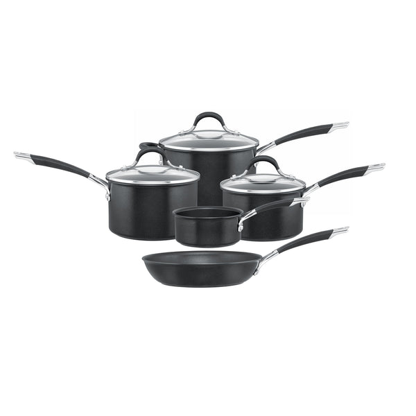Momentum Hard Anodized 5 piece pan set from Circulon.