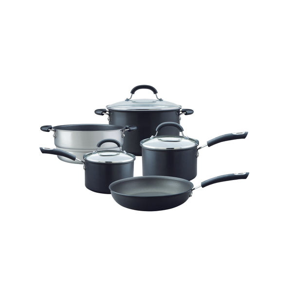 Circulon Total Non-Stick 5 Piece Pan set with steamer