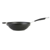 26cm stir fry pan from Momentum features hard anodized construction making it twice as hard as stainless steel